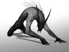 32 Ideas for demon concept art monsters Dark Creatures, Alien Creatures, Magical Creatures, Monster Drawing, Monster Art, Creepy Monster, Creature Concept Art, Creature Design, Fantasy Kunst