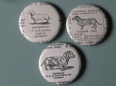 dachshund pins!!