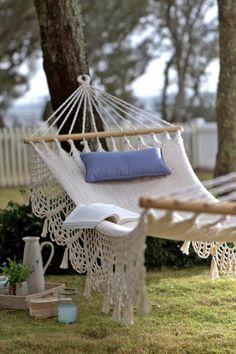 hängematte balkon oder garten | Gartenmöbel – wunderschöne Ideen ...