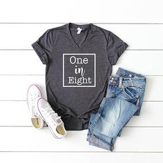 $26. This 100% preshrunk #cotton, ultra-comfy, v-neck tee comes in #UNISEX sizes because let's be honest, couples who suffer #infertility issues include both women and men. Click the link below to grab this shirt for yourself or a loved one.