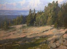 Cadillac Mountain by Roger Dale Brown. Fabulous painter.