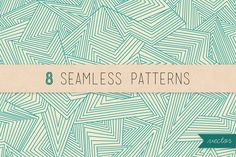 Check out Abstract seamless patterns by magnia on Creative Market