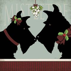 Scottie+Mistletoe