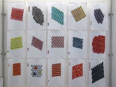 Laura Thomas Woven Textiles: Second week in residence at Ruthin Craft Centre during October.....