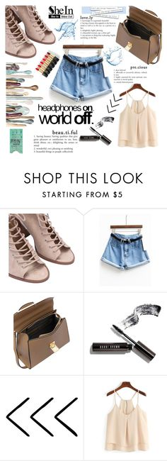 """""""SheIn"""" by beenabloss ❤ liked on Polyvore featuring Bobbi Brown Cosmetics and L'Oréal Paris"""