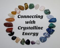 Connecting with Crystalline energy!  A simple explanation to start your magical journey into the Metaphysical.    #steemit