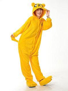 Crazycatz Adventure Time Finn and Jack Unisex Onesie Cosplay Costume Hoodies/Pyjamas/Sleep Wear (L 170-180CM, JACK) crazycatz http://www.amazon.co.uk/dp/B00NE9I290/ref=cm_sw_r_pi_dp_wwBhvb1AY8QZC