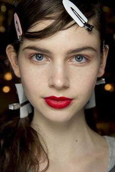 Pat McGrath Best Catwalk Make-Up Photos at Fashion Week   British Vogue