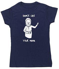HippoWarehouse Dance Like Your Nana womens fitted short sleeve t-shirt HippoWarehouse http://www.amazon.co.uk/dp/B00SJ2BT0G/ref=cm_sw_r_pi_dp_JfA6vb08Z2B8F
