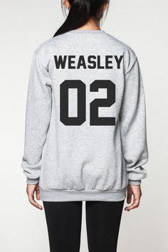 Harry Potter Shirt Frauen Pullover Sweatshirt von OnemoreToddler