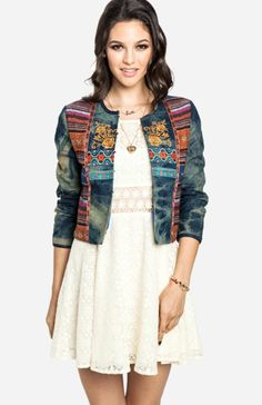 Amazing Jacket - glams up every simple outfit. 20% off your first DailyLook order