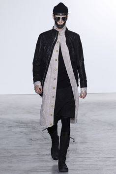 Boris Bidjan Saberi Fall 2016 Menswear Fashion Show