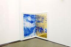 corner art in phillip lim's studio. jim hodges, a passing gate (for meredith), 2009.