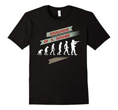 Soldier-Evolution of Man to a Soldier Veterans T-Shirt - Male Small - Black Shoppzee Military Shirts http://www.amazon.com/dp/B01AHCE7NG/ref=cm_sw_r_pi_dp_KH4Swb15SVP5J