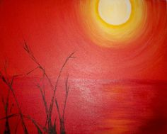 Painting Acrylics Effects | art league masters nominations chippendale sunset acrylic painting ...