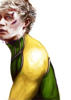 Niall as a super hero ^^ how do people have such amazing drawing skills. I can only draw stick figures