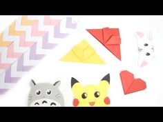 DIY: Cute & Easy Bookmark Ideas - Back to School - YouTube
