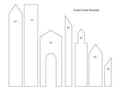 frozen castle template - Google Search