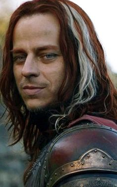 Game Of Thrones' Jaquen H'Ghar before he changed his face (played here by Tom Wlaschiha) ~ much prettier like this! Sexy smile and love that accent too, yum ;)