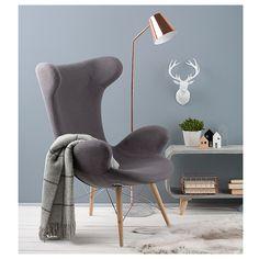 Victor loungestol med træben