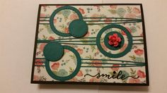 Die Club Card using Memory Box Surely Stitched Circle
