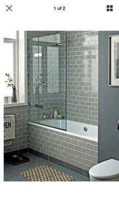 Shower over bath style