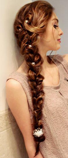 Elsa inspired braid by Jackie Wyers