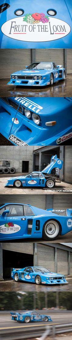 1979 Lancia Beta Montecarlo Turbo / group 5 liveries / Fruit of the Loom / Italy / blue