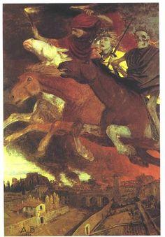 War - Arnold Böcklin