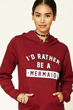 Mermaid Graphic Hoodie