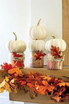 Fabulous Fall Decorating Ideas: Simple 10-Minute Rustic Fall Matel