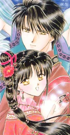 fushigi yuugi miaka and tamahome - Google Search on We Heart It