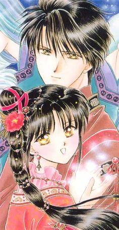 fushigi yuugi miaka and tamahome - Google Search on We Heart It