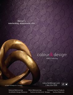 Creative Design And Photography For Colour Designs PradoTM Wall Covering Advertisement In The November 2013 Issue Of Interior Magazine Bc