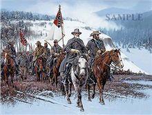 Return to Clark's Mountain print by John Paul Strain, free shipping