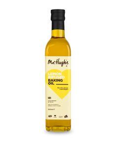 Mr Hugh's Lemon Infused Rapeseed Oil
