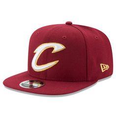 Men s New Era Wine Gold Cleveland Cavaliers City Original Fit 9FIFTY  Snapback Adjustable Hat dc9efaf91f7