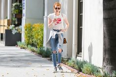 Emma Roberts Out in Beverly Hills, 05/16/16
