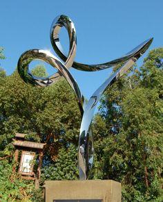 or Modern Outdoor Outside Exterior Garden / Yard Sculptures Statues ...