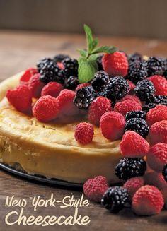This New York-Style Honey Cheesecake pairs well with Joseph Carr Chardonnay.