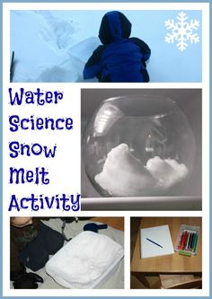 snow melting science activity