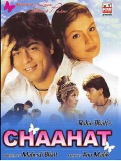 Shahrukh Khan and Pooja Bhatt - Chaahat Hindi Movies Online, Movies To Watch Online, Shah Rukh Khan Movies, Shahrukh Khan, Full Movies Download, Movie Downloads, Hindi Old Songs, Best Bollywood Movies, Srk Movies