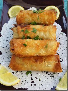 Borek Turc pour le Ramadan 2015 Donut Recipes, Gourmet Recipes, Crockpot Recipes, Cooking Recipes, Healthy Recipes, Holiday Appetizers, Middle Eastern Recipes, Arabic Food, Iftar