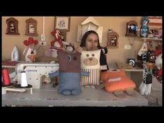 Molde► http://bit.ly/drica-molde-teddy - Meninas, aqui eu ensino passo-a-passo como fazer uma linda Nana/Naninha de Ursinho Teddy com Zipper!