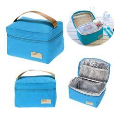 voyage sac de rangement Active Pliant Déjeuner Refroidisseur Cool pa Isolé Food Coolbox
