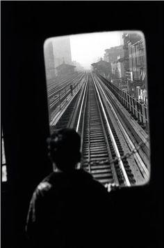 Elliott Erwitt, The Third Ave El, New York City, 1947