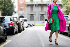On the Streets of Milan Fashion Week Spring 2015 - Milan Fashion Week Spring 2015 Day 5