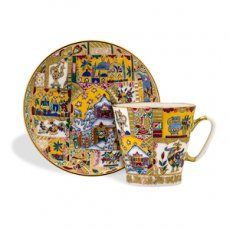 Fairy Tale Coffee Cup and Saucer [002205] - $449.95 : Hermitage Museum Online Shop