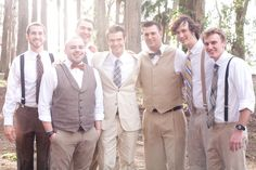 groomsmen attire!