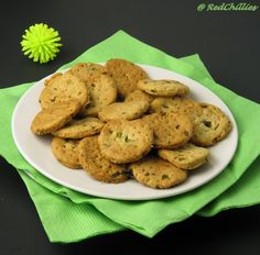 Chilly Biscuits/ Spicy Crackers / Masala Cookies